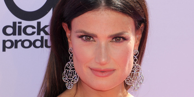 Actress/singer Idina Menzel arrives at the 2016 Billboard Music Awards at T-Mobile Arena. Photo / Getty