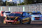 David Reynolds drives the Erebus Motorsport Penrite Racing Holden in Townsville. Photo / Getty Images
