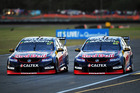 Shane Van Gisbergen and Jamie Whincup during the Ipswich SuperSprint. Photo / Getty Images