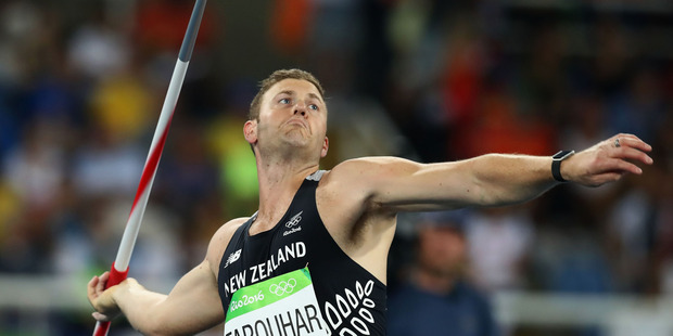 Stuart Farquhar competes at the Rio 2016 Olympic Games. Photo / Getty Images