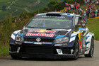 Sebastien Ogier during the WRC Germany. Photo / Getty Images