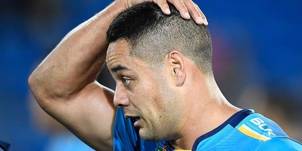 Jarryd Hayne of the Titans. Photo / Getty Images