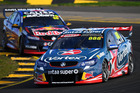 Craig Lowndes during the V8 Supercars Sydney SuperSprint. Photo / Getty Images