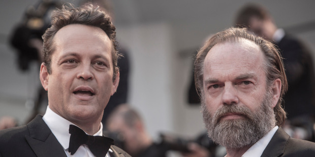 Vaughn and Hugo Weaving attend a premiere for 'Hacksaw Ridge' during the 73rd Venice Film Festival at on September 4, 2016. Photo / Getty