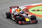Daniel Ricciardo behind the wheel of his Red Bull F1 car. Photo / Getty Images