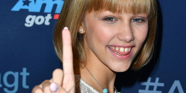 Grace Vanderwaal arrives at the America's Got Talent Season 11 Finale Live Show at Dolby Theatre on September 14, 2016 in Hollywood, California. Photo / Getty