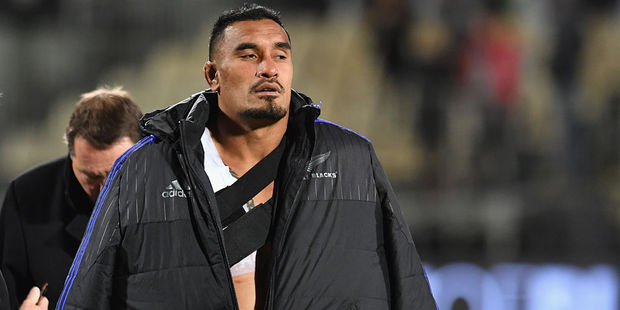 Loading Jerome Kaino is in doubt due to injury. Photo / Getty