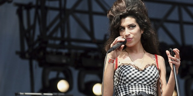 Singer Amy Winehouse performs onstage at Lollapalooza in Grant Park on August 5, 2007 in Chicago. Photo / Getty