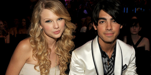 Singers Taylor Swift and Joe Jonas at the 2008 MTV Video Music Awards at Paramount Pictures Studios. Photo / Getty