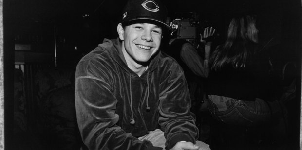American actor and rapper Mark Wahlberg (aka Marky Mark) poses for a photo at a party at the Limelight nightclub in February 1992 in New York City, New York. Photo / Getty