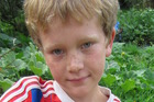 William La Grouw, 10, holds produce harvested from his family's garden in Rotorua. Photo: supplied