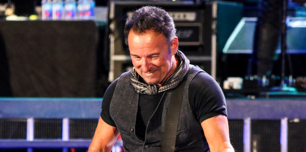 Loading Bruce Springsteen will play shows in Christchurch and Auckland this coming February.