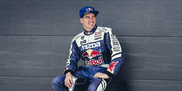 Mad Mike Whiddett poses for a photo. Photo / Red Bull media