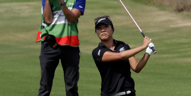 Lydia Ko during the final round of the women's golf event at the Rio Olympics. Photo / AP