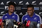Rugby brothers Ardie and Julian Savea look forward to the test against South Africa on Saturday
