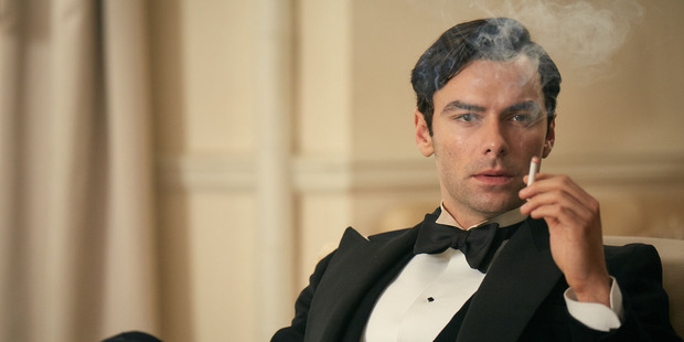 Aidan Turner stars in And Then There Were None.