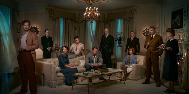 And Then There Were None features an all-star cast including Aidan Turner, Sam Neill and Charles Dance.