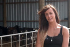 Marcella Bakker is looking for love in the farming community.
