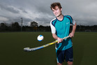 Kristin School first XI hockey star Henry Will also juggled club hockey and a season of first XV rugby with his school commitments. Photo / Doug Sherring