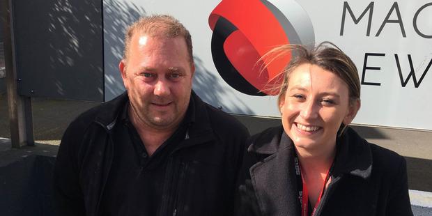Jeremy Batten (left) and Ashley Orchard. Photo / Ophelia Buckleton