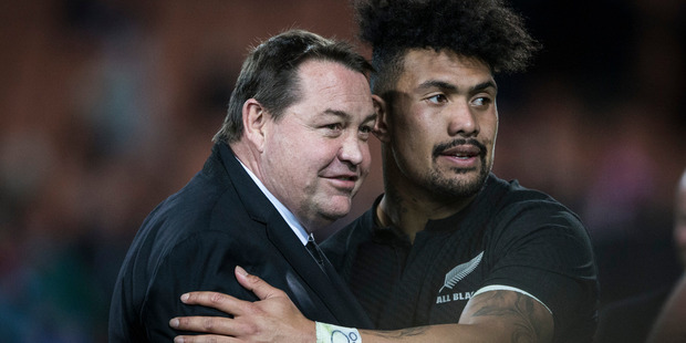 Coach Steve Hansen suggested the promotion of Ardie Savea is not automatic. Photo / Jason Oxenham