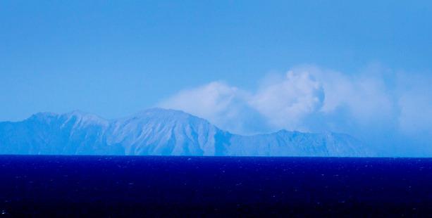 Loading White Island today. Photo / Alan Gibson