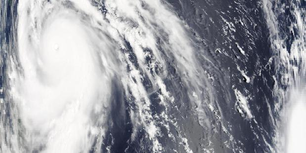 Typhoon Meranti off the coast of Taiwan. Photo / Supplied