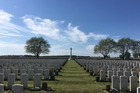 Prince Charles will speak at a service at the Caterpillar Valley Cemetery which commemorates more than 1200 Kiwi soldiers whose graves are not known.  Photo / Kieran Campbell