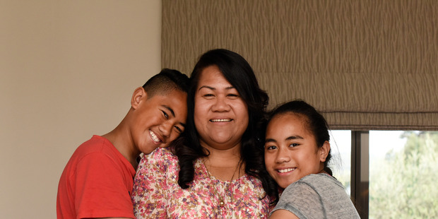 Milo Tusega and her three children relocated to Tauranga from Takanini, South Auckland, in search of a stress-free environment, and ended up in Papamoa.