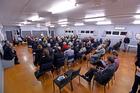 Meet the Candidates evening at Matua Hall. Photo/George Novak