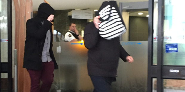 Silvia Farcas narrowly avoided jail time when she was sentenced in Auckland District Court this afternoon. Photo / Tess Nichol