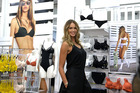 Model Elle MacPherson aunched her new lingerie range at the Farmers Store on Queen Street. Photo / Jason Oxenham