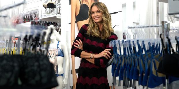 Model Elle MacPherson is in Auckland to promote her new line. Photo / Jason Oxenham