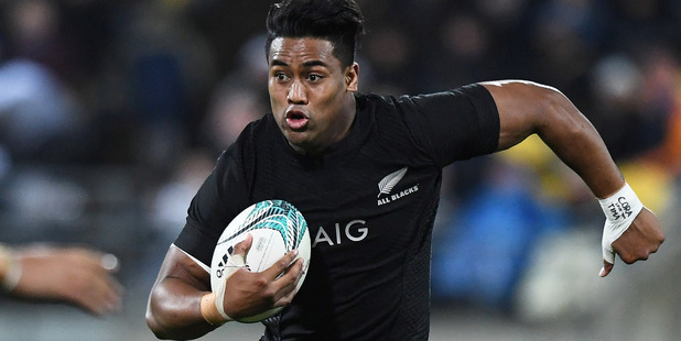 Loading Julian Savea has yet to score a try against South Africa. Photo / photosport.nz