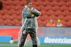Allister Coetzee remains hopeful of upsetting the All Blacks tonight. Picture / www.photosport.nz