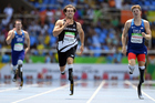 Liam Malone won gold in the men's 400m in one of the highlights of the Kiwi campaign. Photo / photosport.nz
