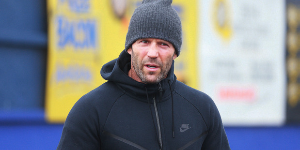 Jason Statham in Westmere. Photo / Doug Sherring