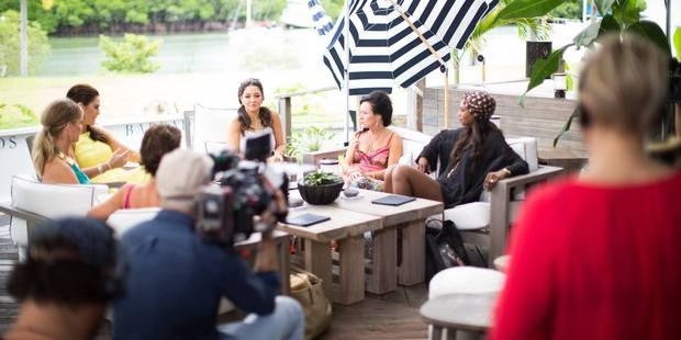 The cast at Port Douglas. Photo / Bravo TV Facebook