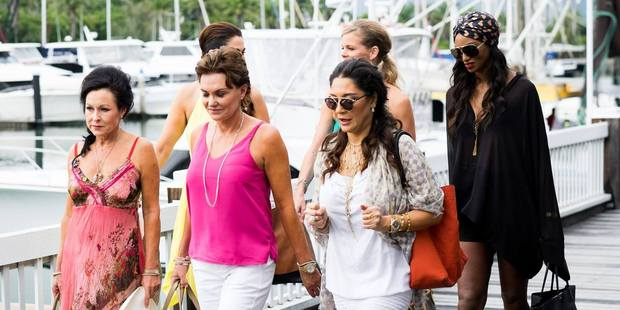 The Real Housewives of Auckland on their trip to Port Douglas. Photo / Bravo TV Facebook