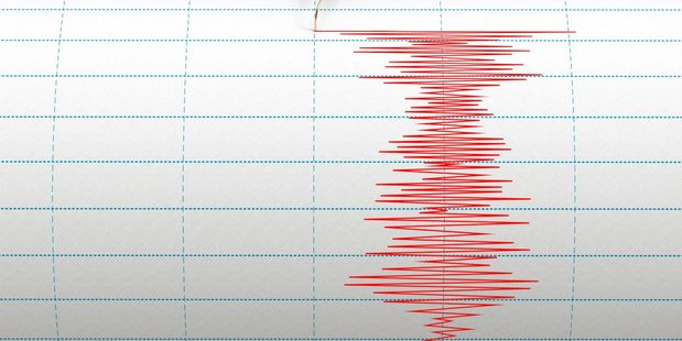 Two strong aftershocks shook the East Coast this morning. Photo / File