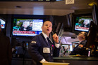 The S&P 500 financial index dropped 0.91 per cent, dragging down the benchmark index the most. Photo / AP