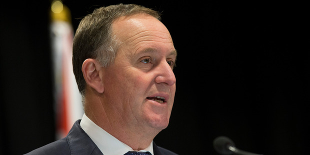 John Key looks likely to deliver National a fourth term. Photo / Mark Mitchell