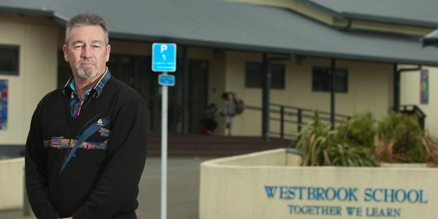 Westbrook School principal Colin Watkins. Photo/File
