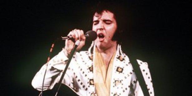 Elvis Presley is still alive. Photo / AP
