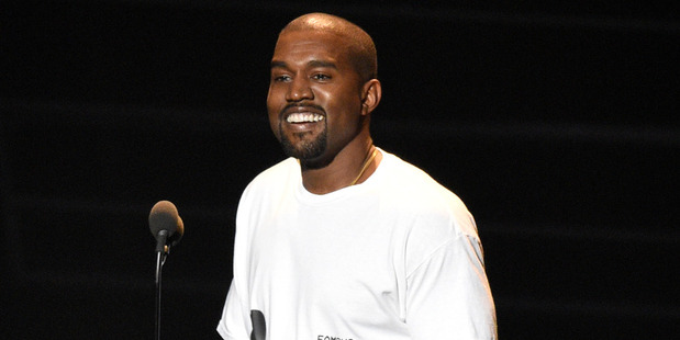 Rapper Kanye West says he wants Will Ferrell to play him in a movie about his life. Photo / AP