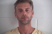 Shawn M. Grate who was arrested in Ashland, Ohio in connection to the investigation of a rescued abductee and the discovery of three bodies. Photo / AP