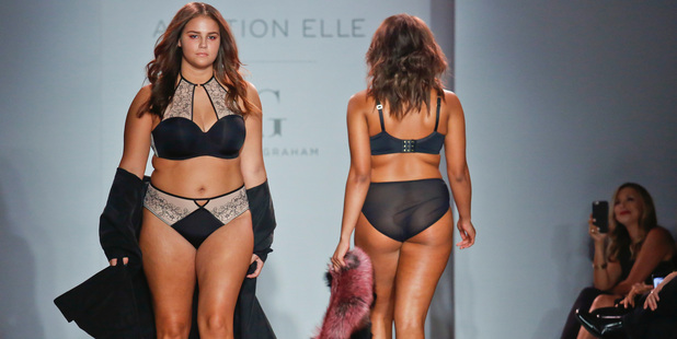 Fashion from the Ashley Graham collection. Photo / AP