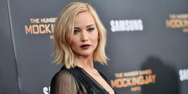 Actress Jennifer Lawrence has given up alcohol. Photo / AP