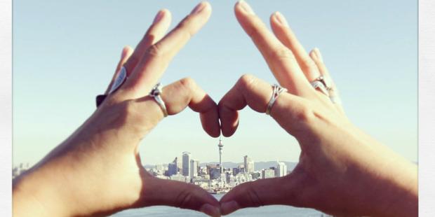 Auckland Council wants to feel the love. Photo / Chris Gorman