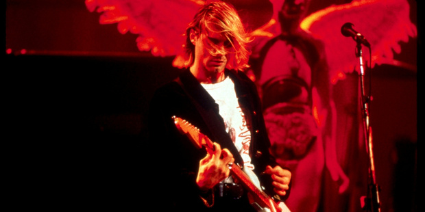 Nirvana finally hit back after getting sick of theories their late friend Kurt Cobain is still alive. Photo / Supplied